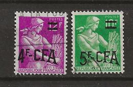 REUNION CFA: Obl., N°333 + 333 A, TB - Usati