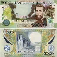 COLOMBIA        5000 Pesos        P-452       1.9.2013       UNC - Colombia