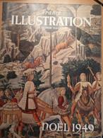 France Illustration Noël 1949 Cocteau Bethléem Statuts En Bourgogne Danse Cadieu Filippo Lippi Sandro Botticelli - L'Illustration