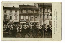 Rückzug Der Letzten Russen Aus Insterburg - Am 11 September 1914, Nachmittags 1/2 2 Uhr - Circulé 1915, Mauvais état - Ostpreussen