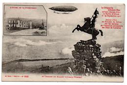 88/ Ballon D'Alsace : La Jumenterie - Le Dirigeable - Andere Gemeenten