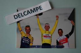CYCLISME: CYCLISTE : PODIUM DU TOUR DE FRANCE 2020 - Cyclisme