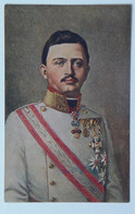 92 Kaiser Karl Son Franz Josef Portrait Uniform Sash - Familias Reales