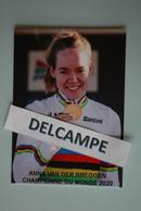 CYCLISME: CYCLISTE : ANNA VAN DER BREGGEN - Cyclisme