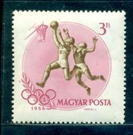 1956 Basketball, Melbourne Olympics, Hungary, Mi. 1479, MNH - Verano 1956: Melbourne