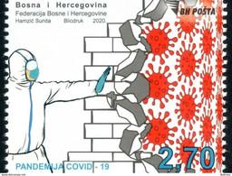 2020 Covid - 19, Bosnia And Herzegovina, MNH - Bosnia Herzegovina