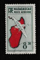 MADAGASCAR YT PA 9  Oblitéré - Luftpost