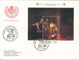 FDC 1992 - Sovrano Militare Ordine Di Malta