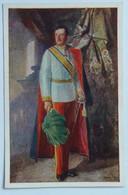 82 Kaiser Karl Son Franz Josef Portrait Uniform Sash - Familias Reales