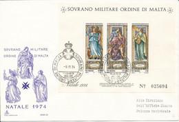 FDC 1974 - Sovrano Militare Ordine Di Malta