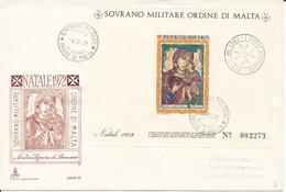 FDC 1972 - Sovrano Militare Ordine Di Malta