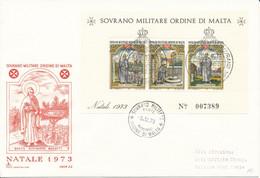 FDC 1973 - Sovrano Militare Ordine Di Malta