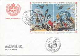 FDC 1999 - Sovrano Militare Ordine Di Malta