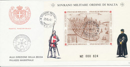 FDC 1991 - Sovrano Militare Ordine Di Malta