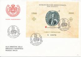 FDC 2000 - Sovrano Militare Ordine Di Malta