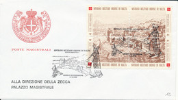 FDC 1993 - Sovrano Militare Ordine Di Malta