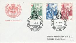 FDC 1981 - Sovrano Militare Ordine Di Malta
