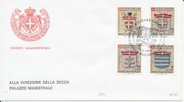 FDC 1994 - Sovrano Militare Ordine Di Malta
