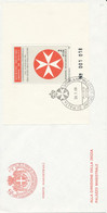 FDC 1988 - Sovrano Militare Ordine Di Malta