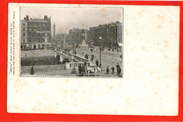 IRELAND DUBLIN   O'CONNEL BRIDGE AND SACKVILLE ST VIGNETTE - Dublin