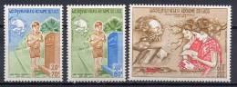 Laos 1974 UPU Centenary Set Of 3 MNH - U.P.U.