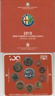 SET 2010 COMPRESO 5 EURO ARGENTO ITALIA - Italie