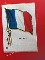 FRANCE Collectors Silk BDV Phillips Cigarettes Silks Flag Drapeau C1925-Insights-Godfrey Phillips Badge En Soie - Zigarettenzubehör