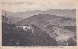 ANCONA - CARTOLINA - SACRO EREMO DI S. SILVESTRO ABATE M. 800 S.. - FABRIANO - ANCONA - Ancona