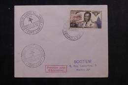 A.E.F. - Enveloppe FDC En 1955 - Gouverneur Général Eboué - L 73324 - Covers & Documents