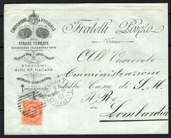 Italia Regno Busta Pubblicitaria Tipografia Pozzo Torino VF/F - Publicity