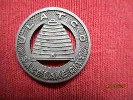 USA: Jeton / Token Salt Lake City ULATCO (good For One Fare) - Monetary/Of Necessity