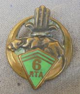 INSIGNE 6° RTA Epoque WW2 - Army