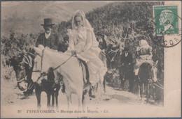 Types Corses , Mariage Dans Le Maquis  , Animée - Corse