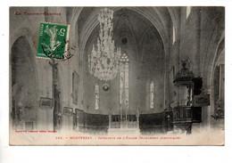 82 - MONTPEZAT . INTÉRIEUR DE L'ÉGLISE - Réf. N°10633 - - Montpezat De Quercy