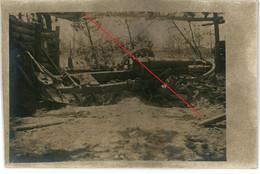 Carte Photo.51(MARNE)Saint Souplet Sur Py. Geschütz . Chamapgne 9-16.Soldats Allemande Guerre 14-18.WWI - Non Classificati