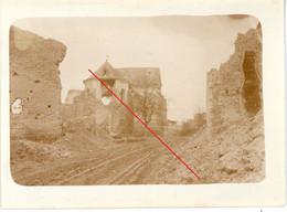 Photo.51(MARNE)Saint Souplet Sur Py. . Chamapgne 10-16.Soldats Allemande Guerre 14-18.WWI - Non Classificati