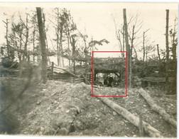 Photo.51(MARNE)Saint Souplet Sur Py. WALDSTELLUNG .Artillerie  Chamapagne 11-16.Soldats Allemande Guerre 14-18.WWI - Non Classificati