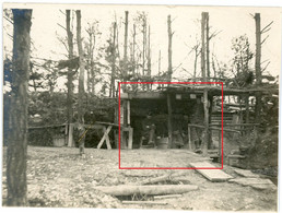 Photo.51(MARNE)Saint Souplet Sur Py. WALDSTELLUNG .Artillerie  Chamapagne 13-16.Soldats Allemande Guerre 14-18.WWI - Non Classificati
