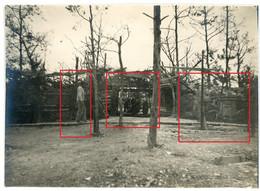 Photo.51(MARNE)Saint Souplet Sur Py. WALDSTELLUNG .Artillerie  Chamapagne 14-16.Soldats Allemande Guerre 14-18.WWI - Non Classificati