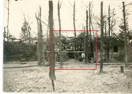 Photo.51(MARNE)Saint Souplet Sur Py. WALDSTELLUNG .Artillerie  Chamapagne 15-16.Soldats Allemande Guerre 14-18.WWI - Non Classificati