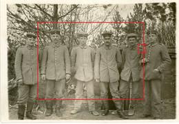 Photo.51(MARNE)Saint Souplet Sur Py. WALDSTELLUNG .Artillerie  Chamapagne 16-16.Soldats Allemande Guerre 14-18.WWI - Non Classificati