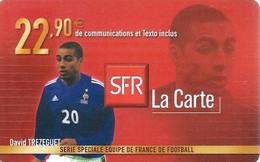 Carte Prépayée -  SFR La Carte - Trézéguet / 22.90  € - Frankreich