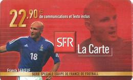 Carte Prépayée -  SFR La Carte - Leboeuf  / 22.90  € - Frankreich