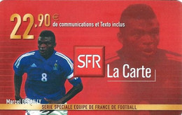 Carte Prépayée -  SFR La Carte - Desailly  / 22.90  € - Frankreich
