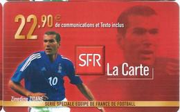 Carte Prépayée -  SFR La Carte - Zidane   / 22.90  € - Frankreich