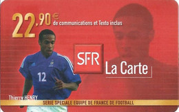 Carte Prépayée -  SFR La Carte - Henri   / 22.90  € - Frankreich