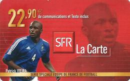 Carte Prépayée -  SFR La Carte - Vieira  / 22.90  € - Frankreich