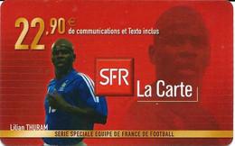 Carte Prépayée -  SFR La Carte - Thuram  / 22.90  € - Frankreich