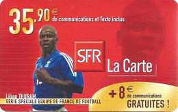 Carte Prépayée -  SFR La Carte - Thuram / 35.90 € - Frankreich