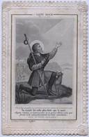 Rare - Image Pieuse - Saint Roch - Decoupis - Devotion Images